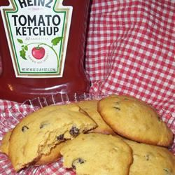 Rosy Raisin Nut Cookies Keni