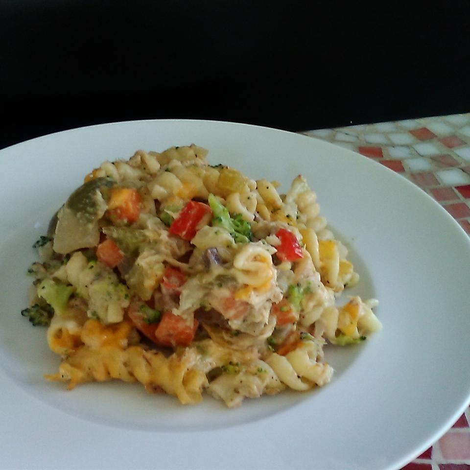 Tuna and Broccoli Noodle Casserole
