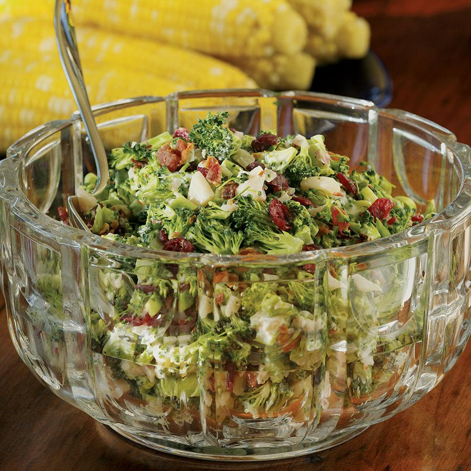 Broccoli-Bacon Salad EatingWell Test Kitchen