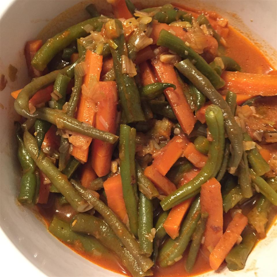 Egyptian Green Beans with Carrots Karla Marie Dombrock