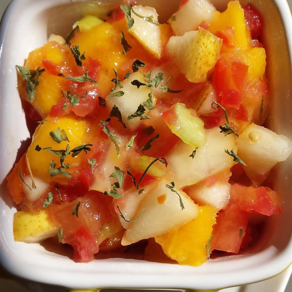 Pear-Mango Salsa