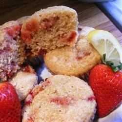 Strawberry Lemon Muffins abapplez