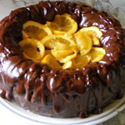 Dark Chocolate Orange Cake Archangel
