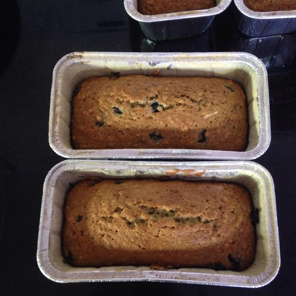Barbie's Blueberry Zucchini Bread with Oatmeal and Walnuts Francis