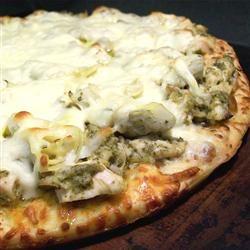 Chicken Pesto Pizza SunnyByrd