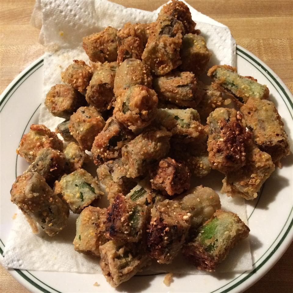 Fried Okra carolyng