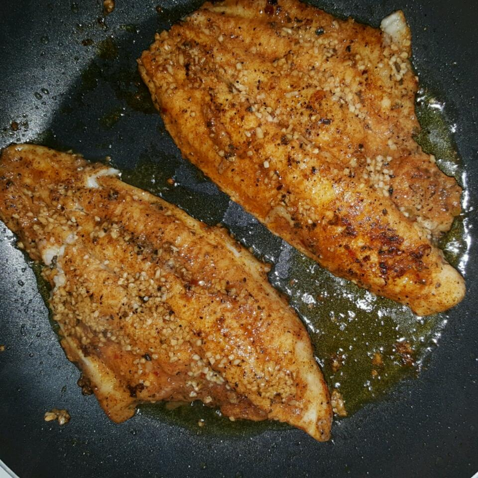 Easy Garlic Swai Fish cookingwhilesingle