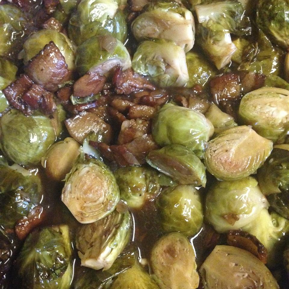 Bella's Brussels Sprouts with Bacon Beth