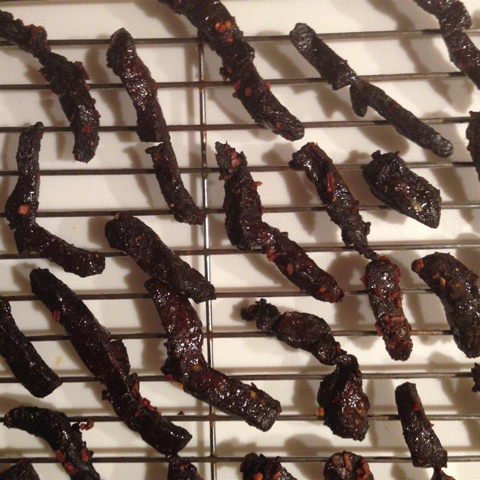 Sweet and Spicy Venison Jerky Kat Lacroix