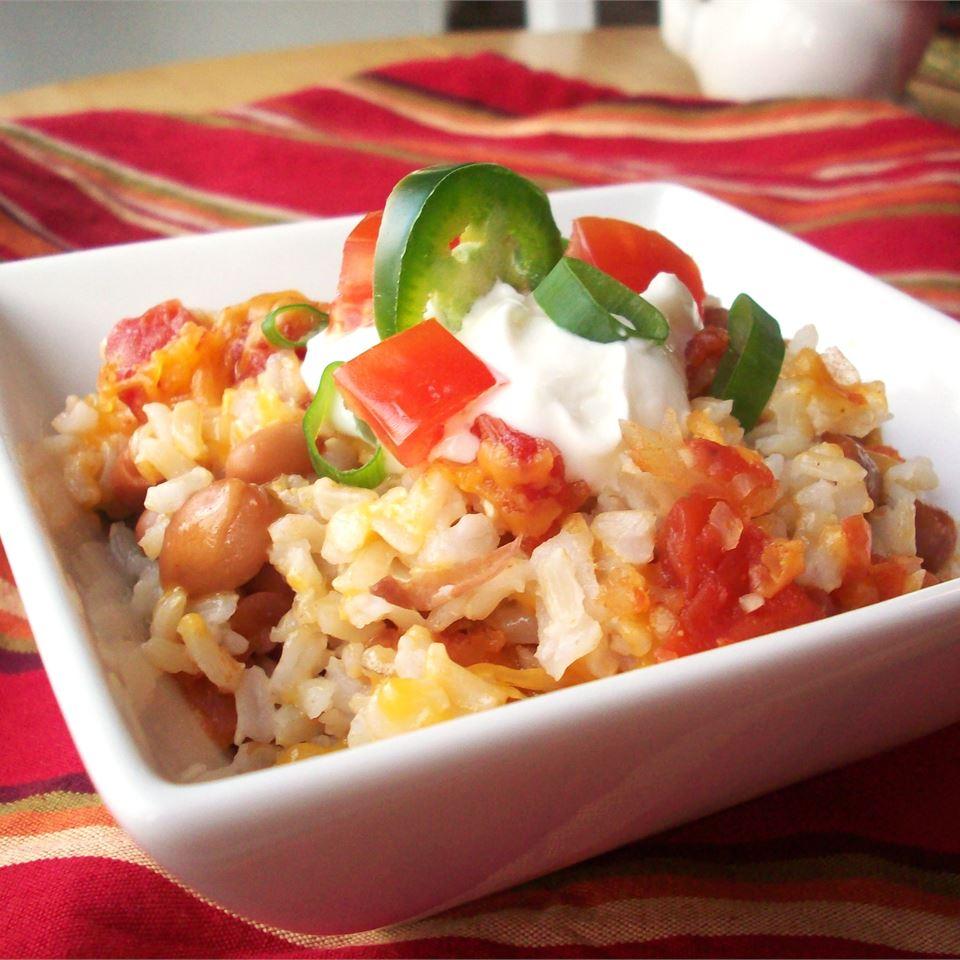 Cheesy Beans and Rice CookinBug