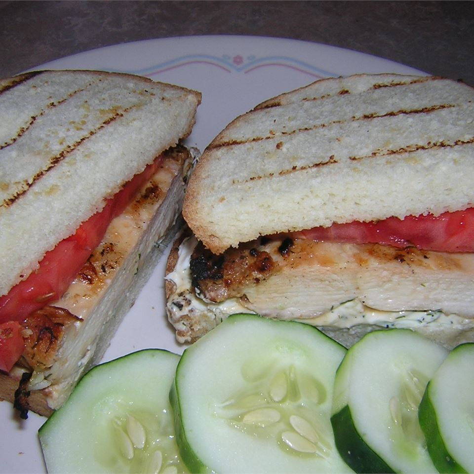 Divine Summertime Chicken Sandwich