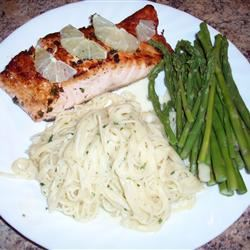 Easy Lemon-Pepper Blackened Salmon Shanno