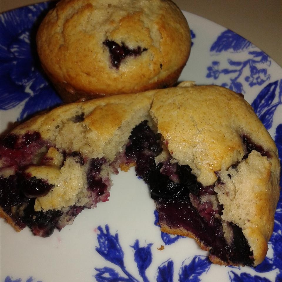 Blueberry Cream Muffins Rosely Hart