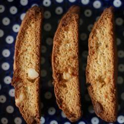 Marietta's White Chocolate Macadamia Biscotti