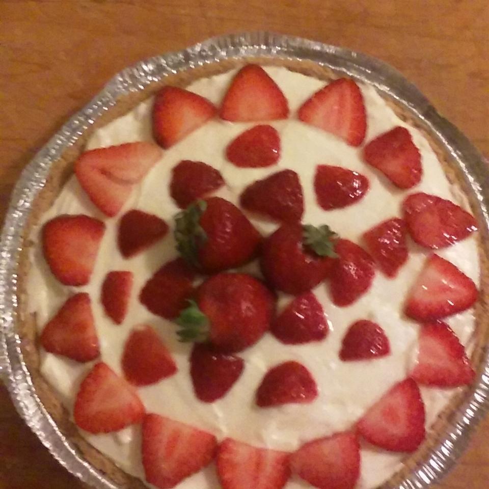 No Bake Sugar Free Strawberry Cheesecake Jazzie DollaMama Hayes