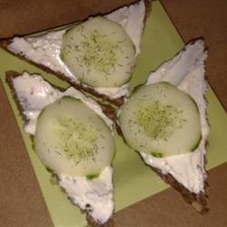 Cucumber Sandwiches I Kristen