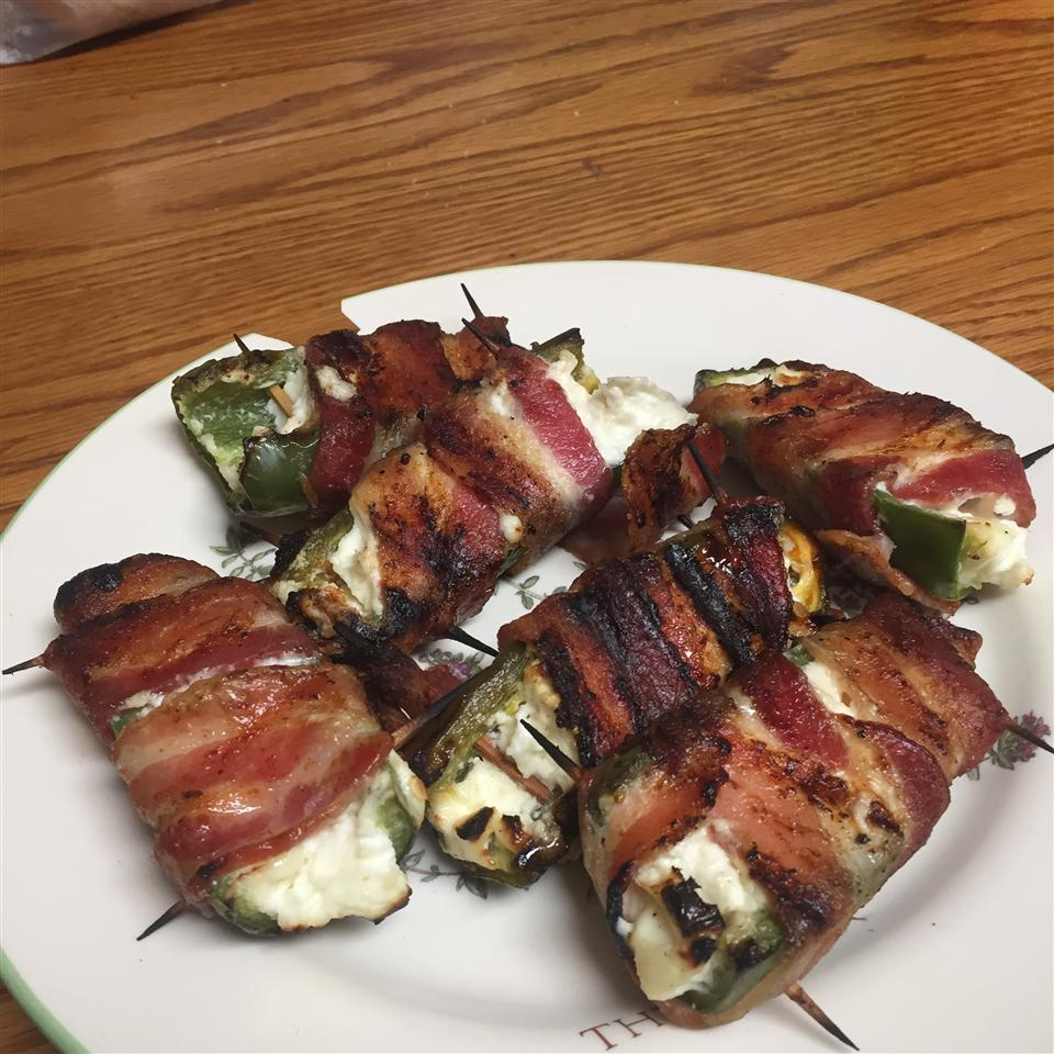 Grilled Bacon Jalapeno Wraps