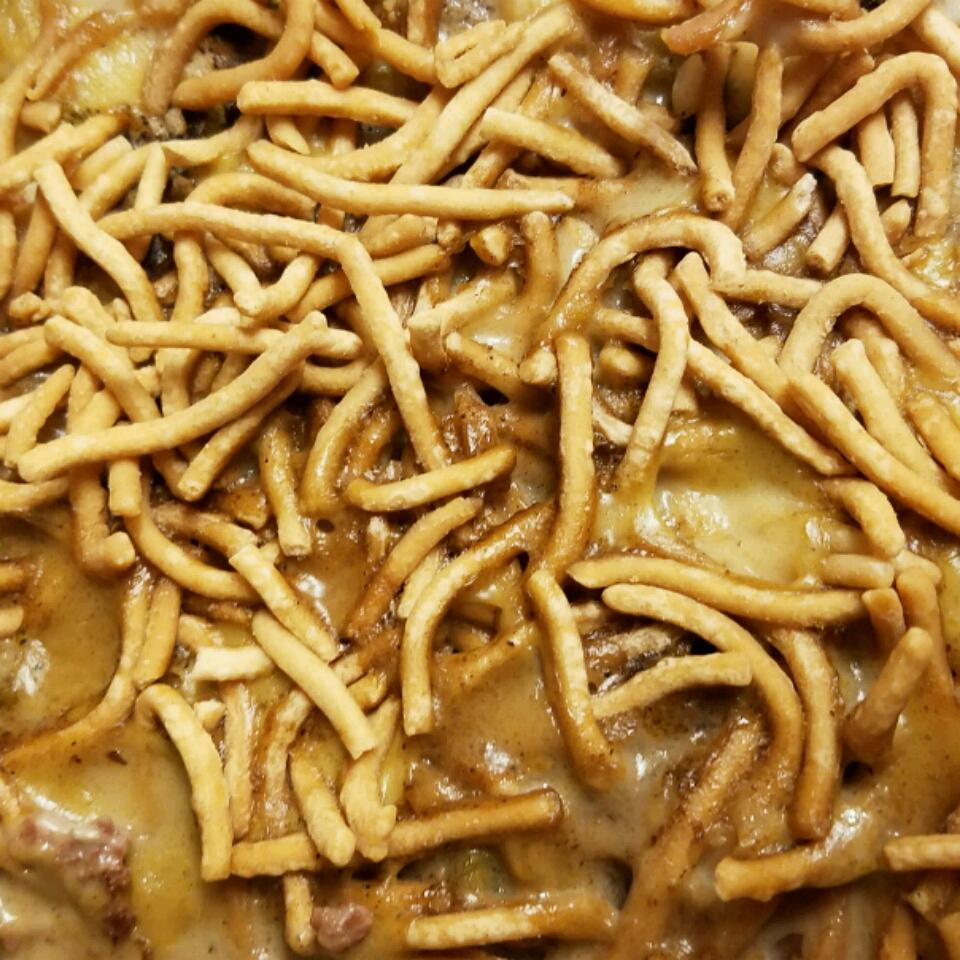 Ground Beef Chinese Casserole