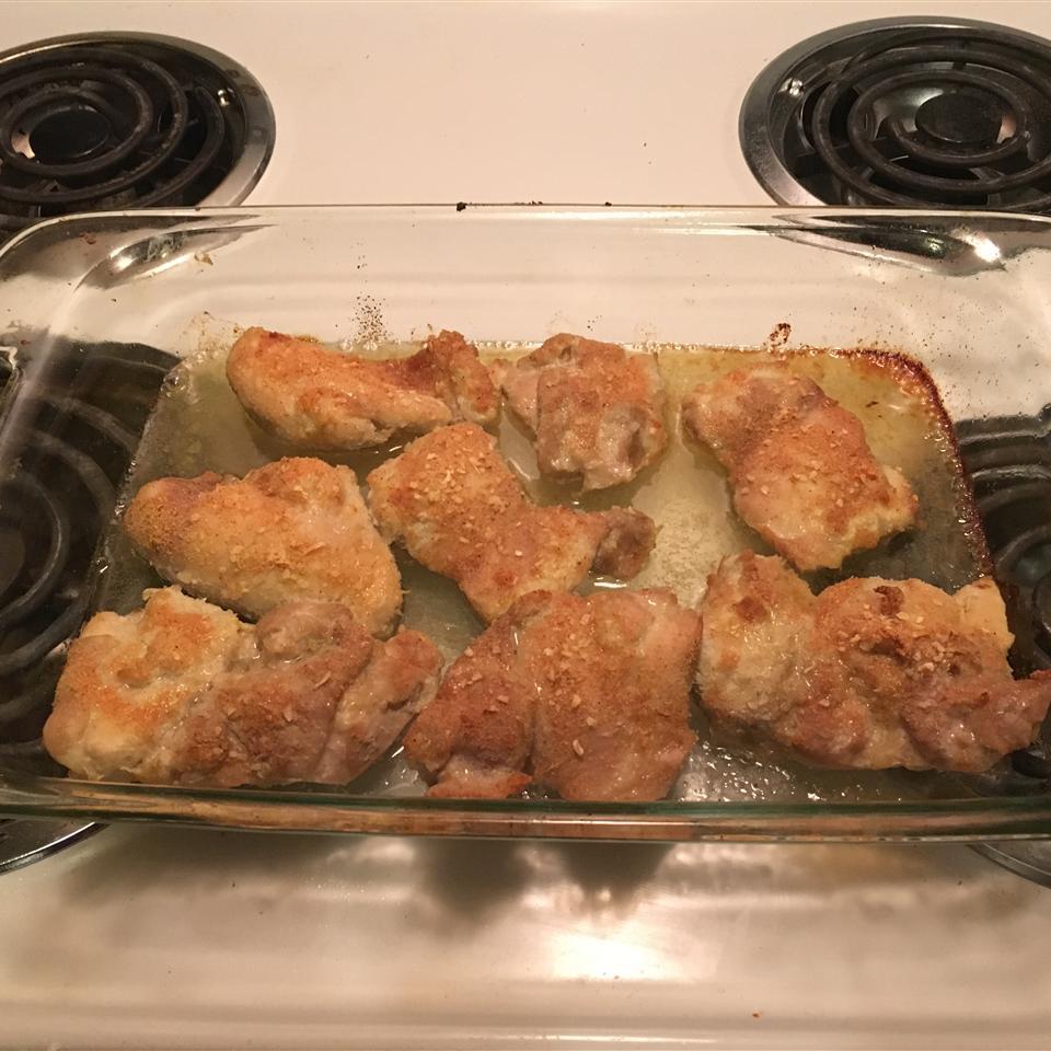 Easy Baked Chicken Thighs William Fabio
