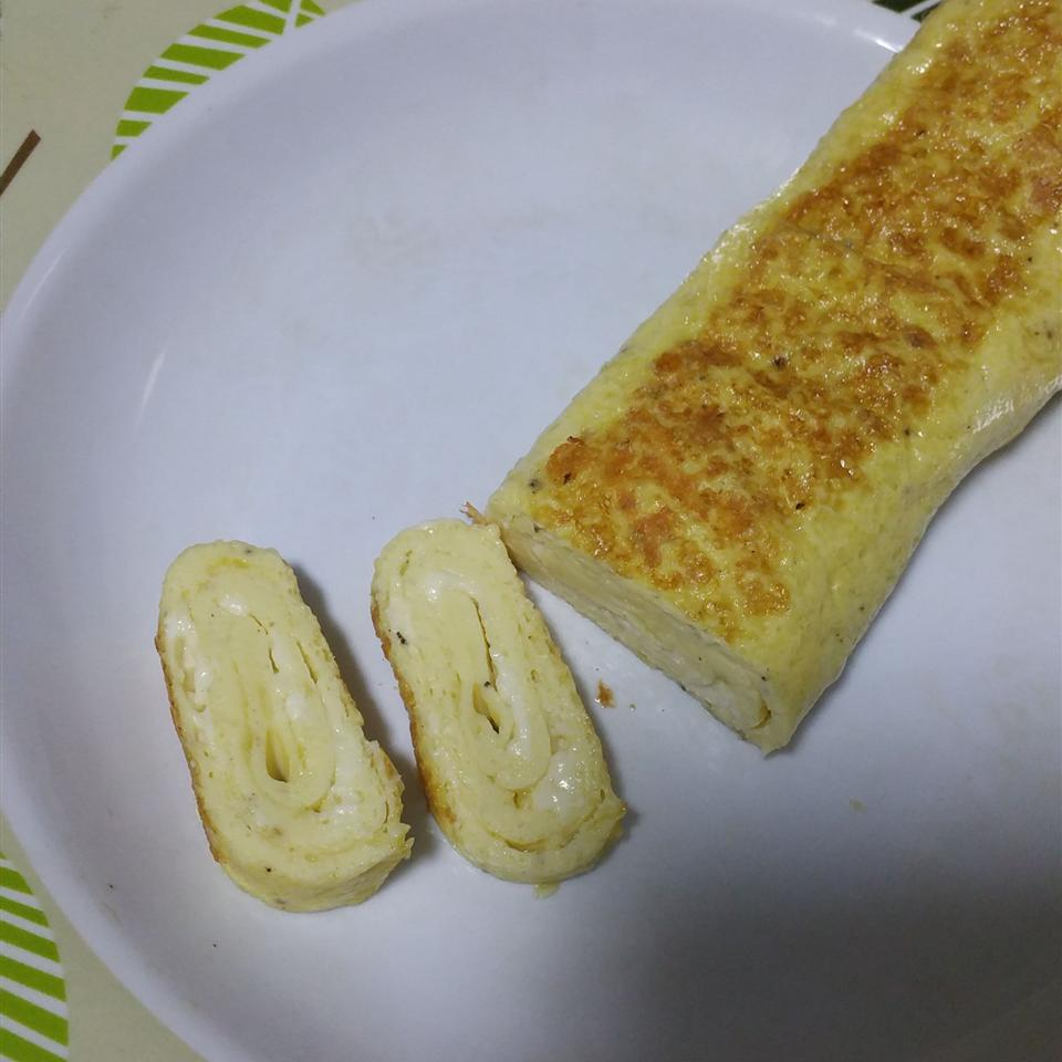 Egyptian Feta Cheese Omelet Roll Pei Qi