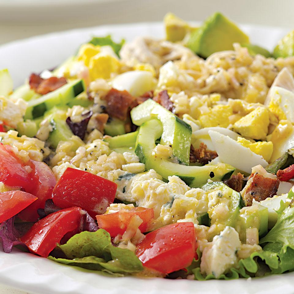 The EatingWell Cobb Salad EatingWell Test Kitchen