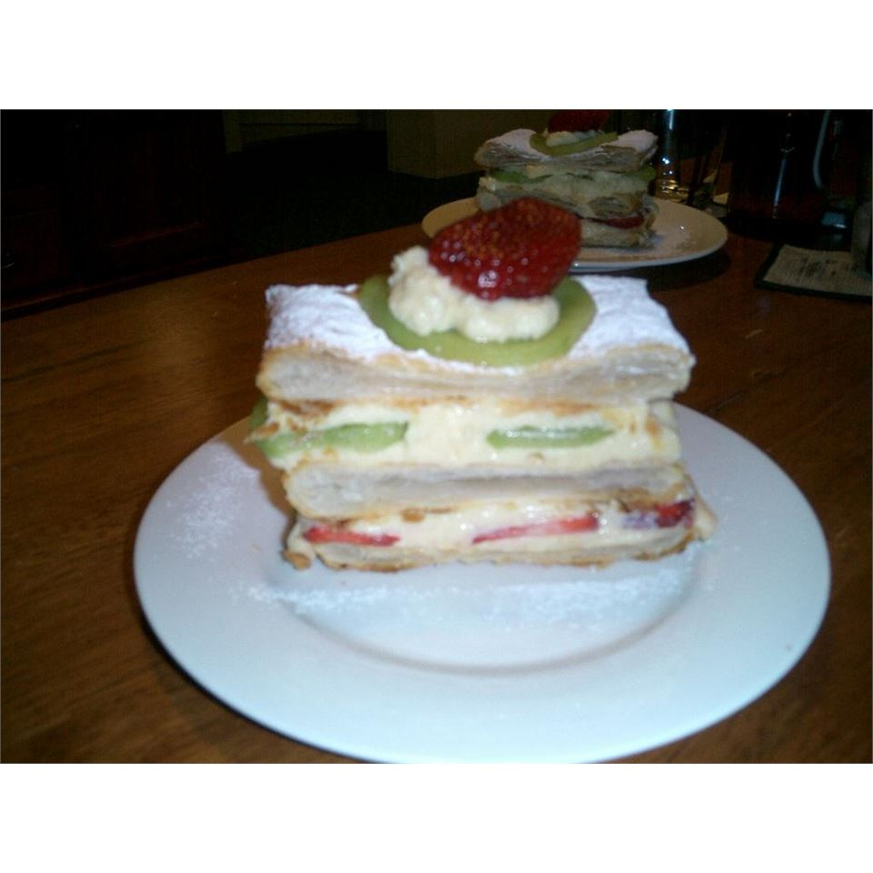 French Vanilla Slices (Mille-feuilles) Lydia