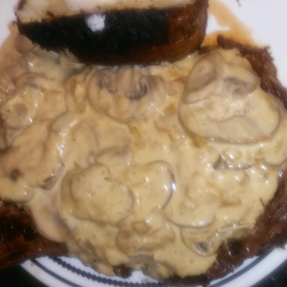 Mushroom Cream Gravy Sauce