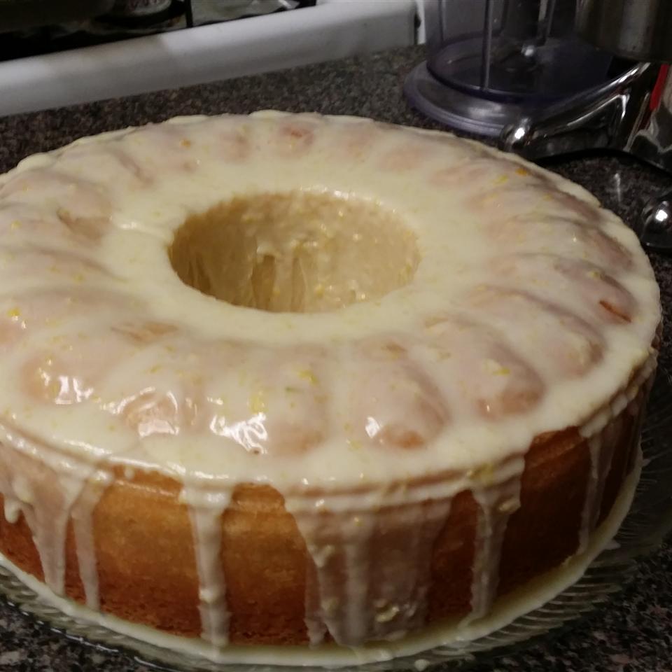 Lemon-Buttermilk Pound Cake with Aunt Evelyn's Lemon Glaze Malinda Dix-Hunt