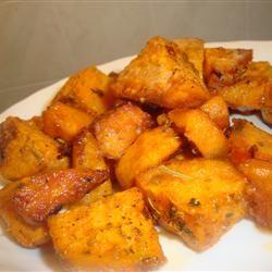 Cajun Style Baked Sweet Potato amandak23k
