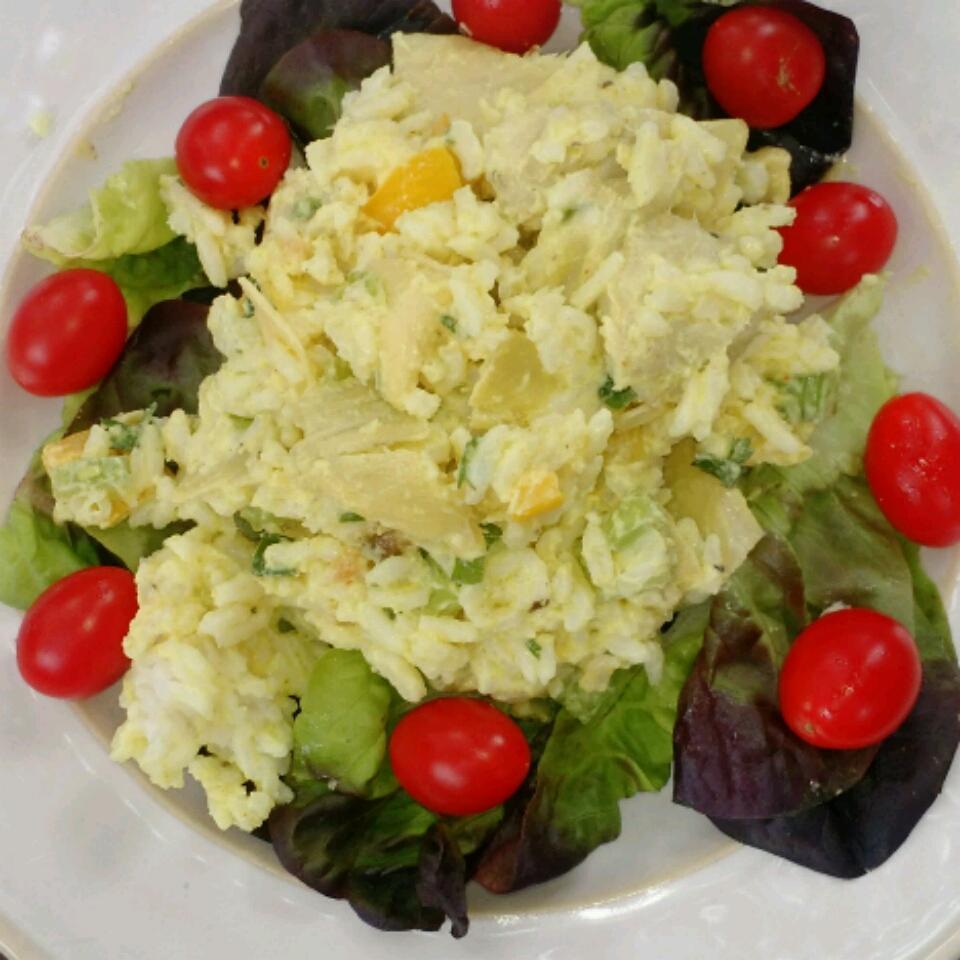 Artichoke Rice Salad