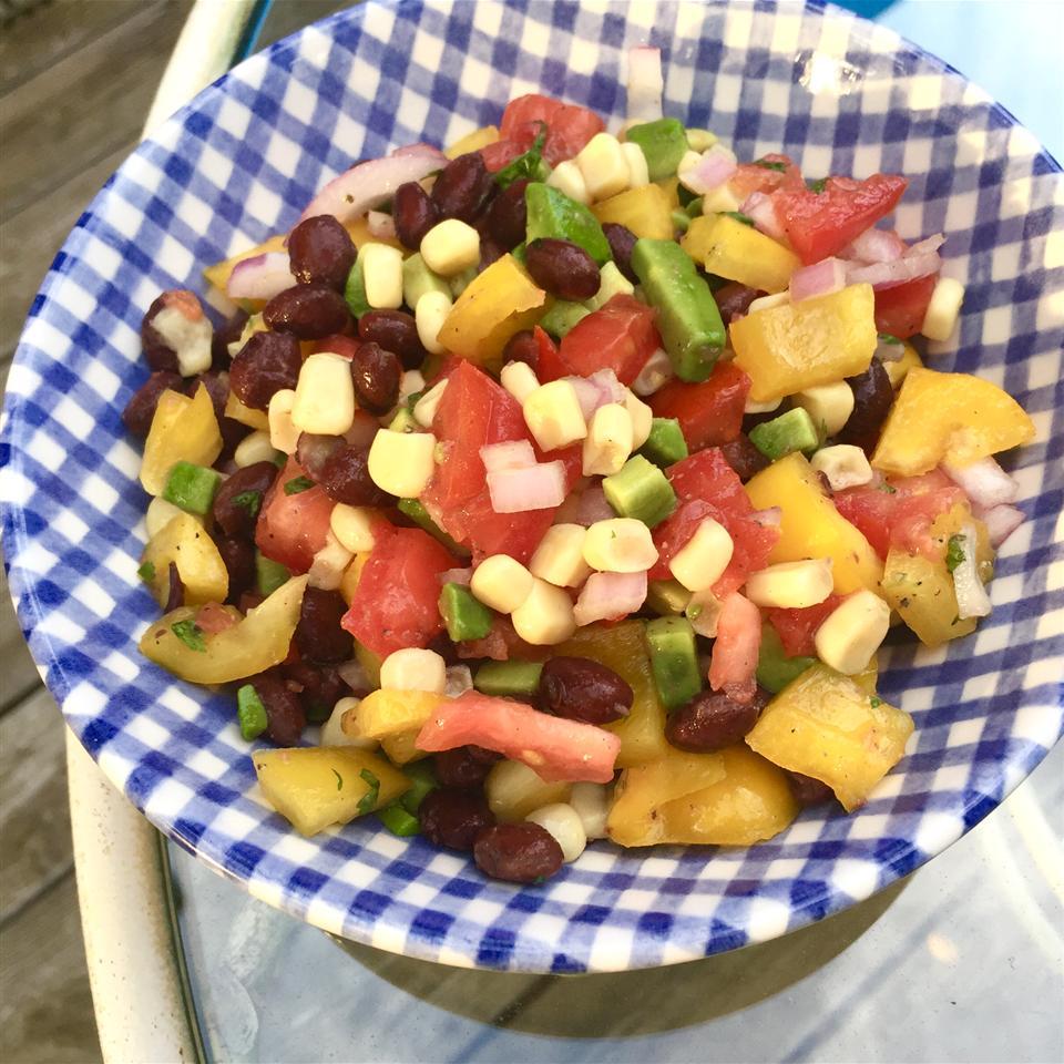 Black Bean Avocado Salsa