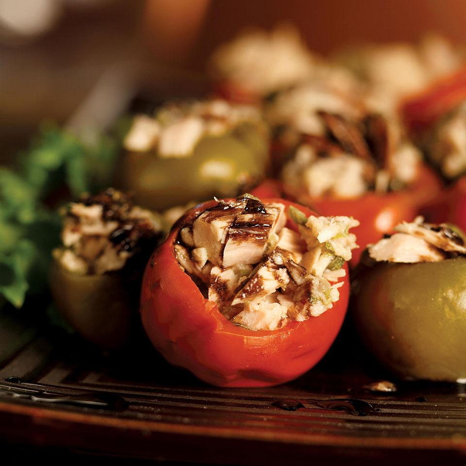 These tuna-stuffed peppers are ubiquitous in delis all over Susa, Italy.