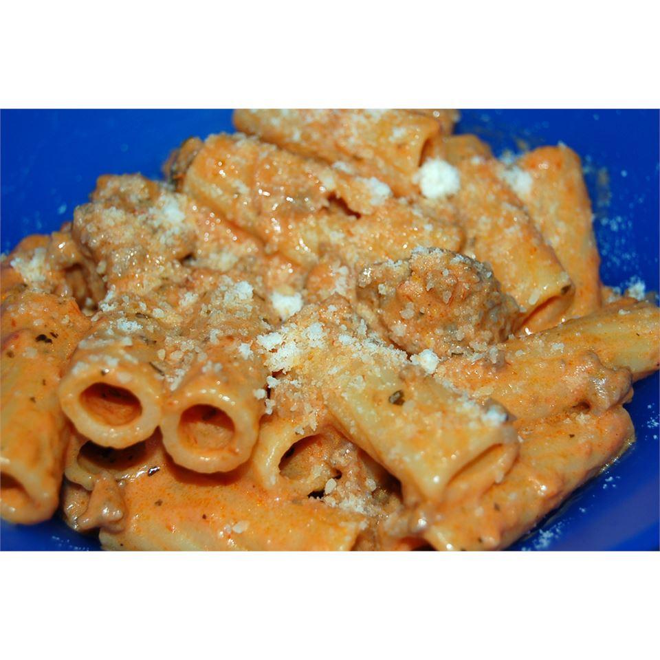 Fast Creamy Tomato Penne