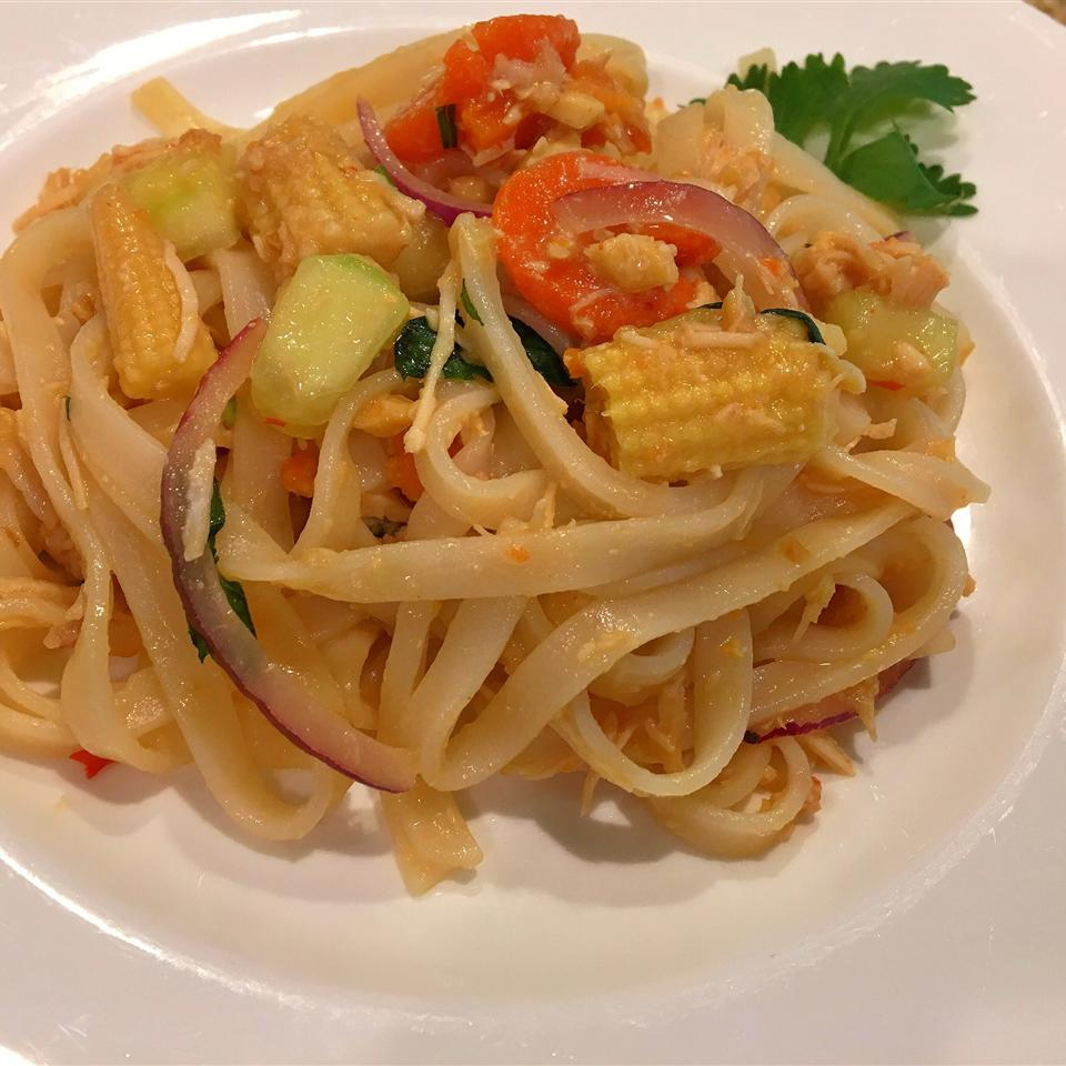 Malaysian Tangy Noodle Salad Darrell Coomes