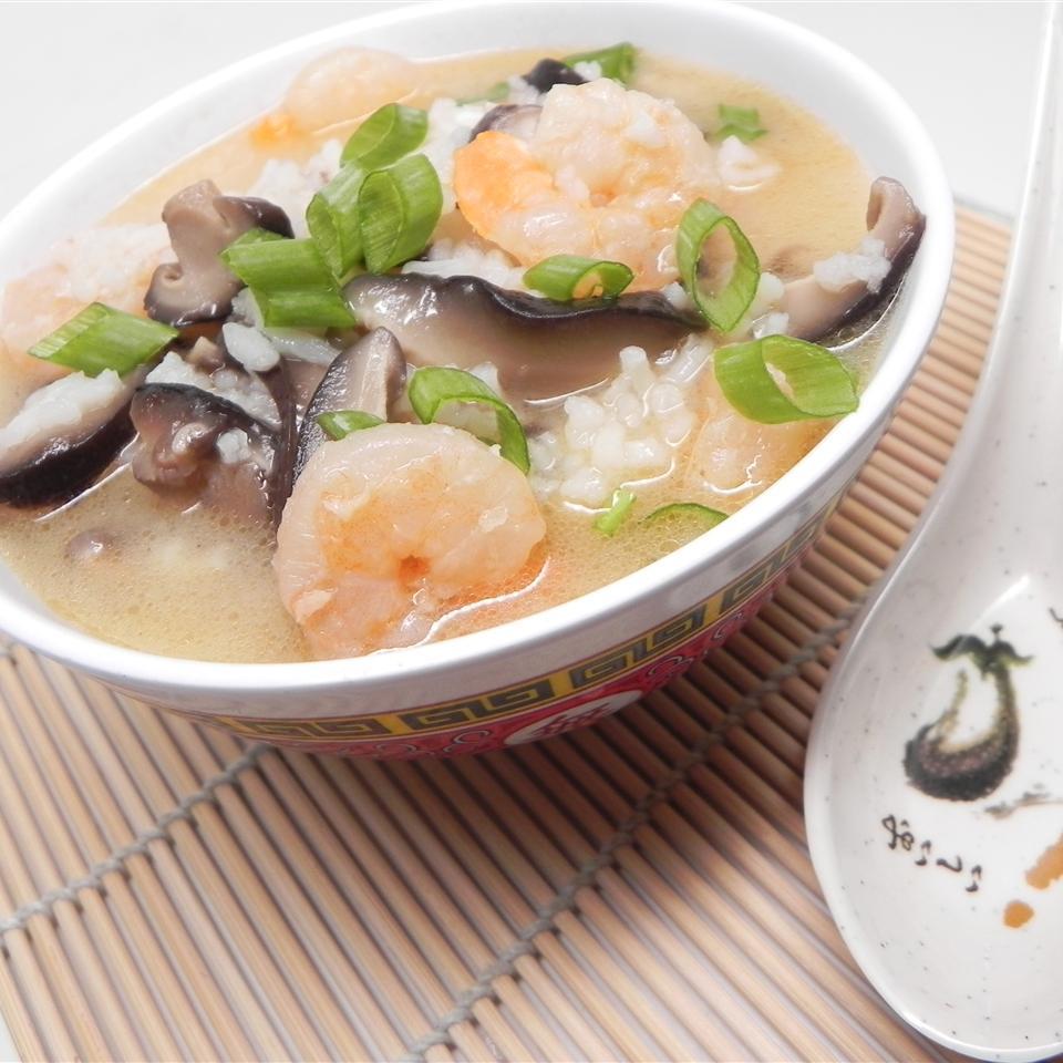 Shrimp Rice Soup