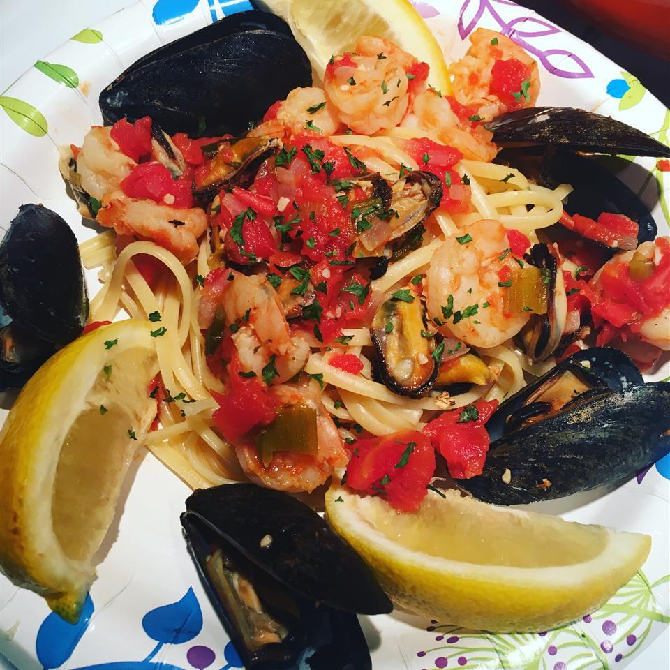 Seafood Marinara Pasta
