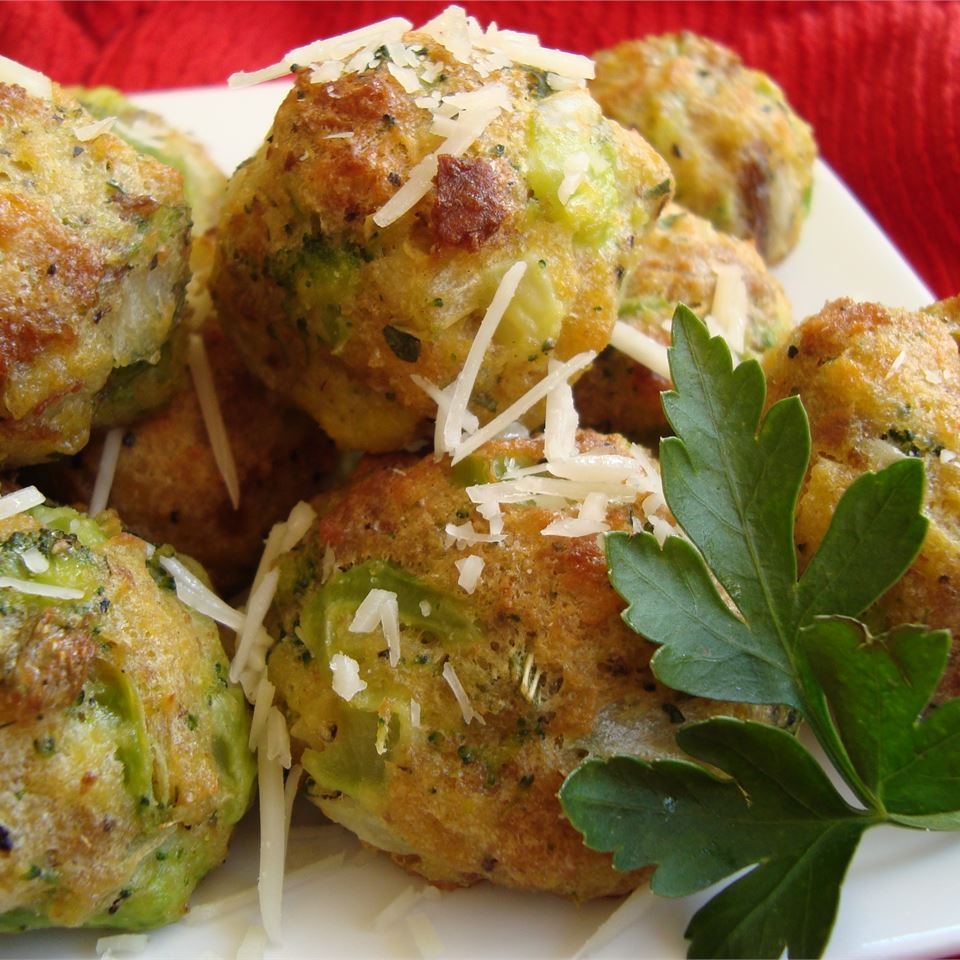 Parmesan Broccoli Balls Heather P