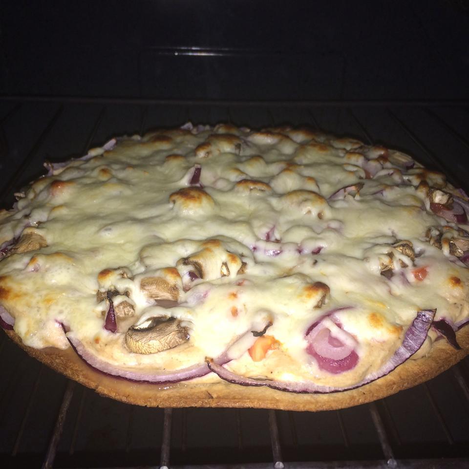 Tuna Pizza Katie Bloedorn