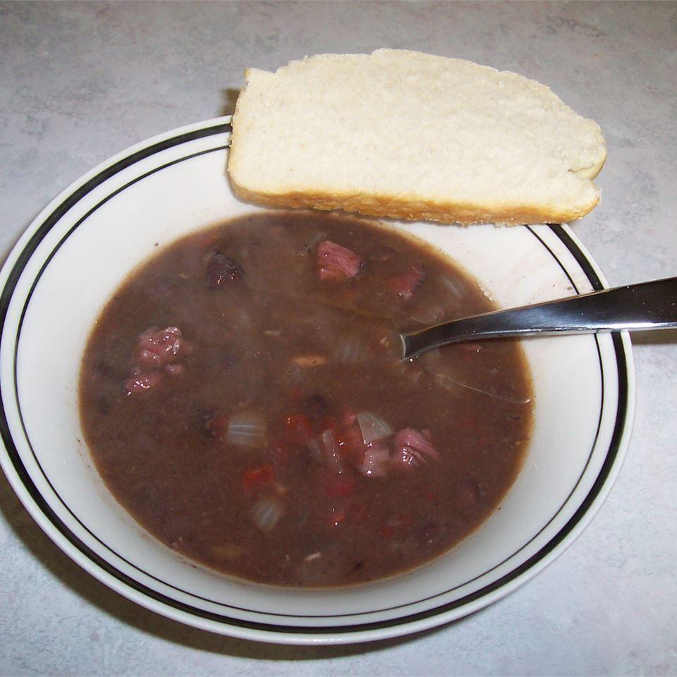 Black Bean Soup I Mimi'sCookingthyme