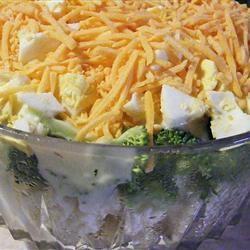 Broccoli-Cauliflower Salad