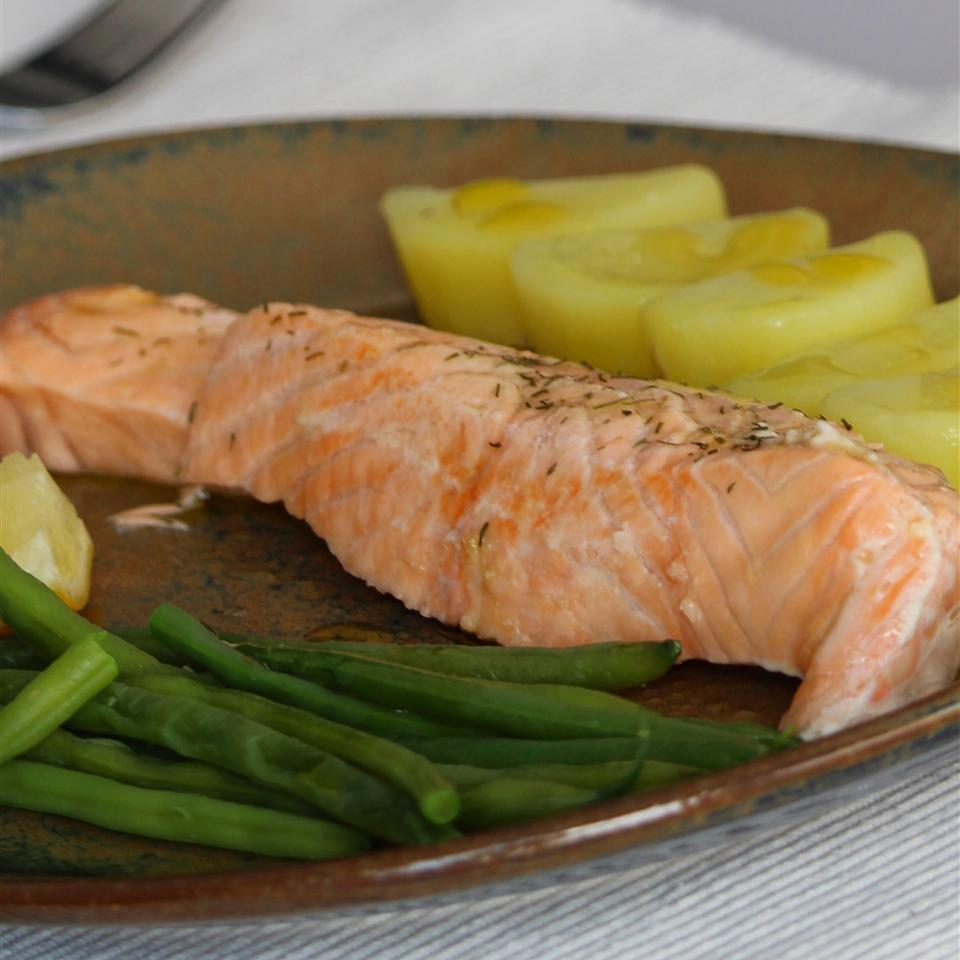 Lemon Dill Salmon Fillet