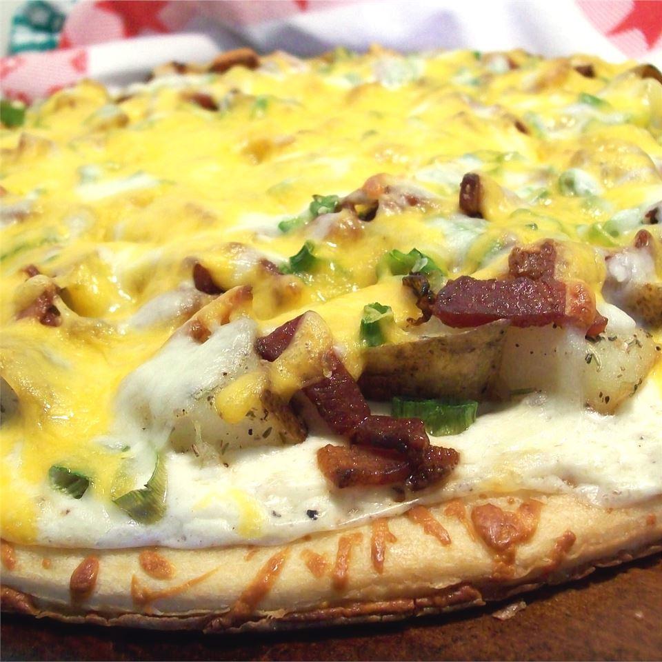Baked Potato Pizza SunnyByrd