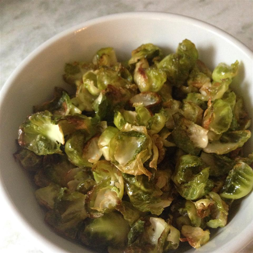 Spicy Brussels Sprout Chips Lynn Scarlett