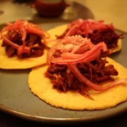 Authentic Cochinita Pibil (Spicy Mexican Pulled Pork) jackie