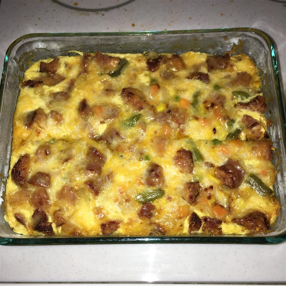 Hash Brown and Egg Casserole Casey Smith