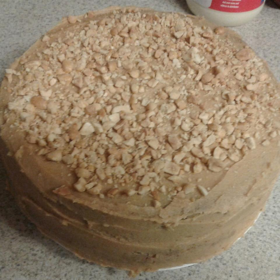 Peanut Butter Cake I Nickie Smith