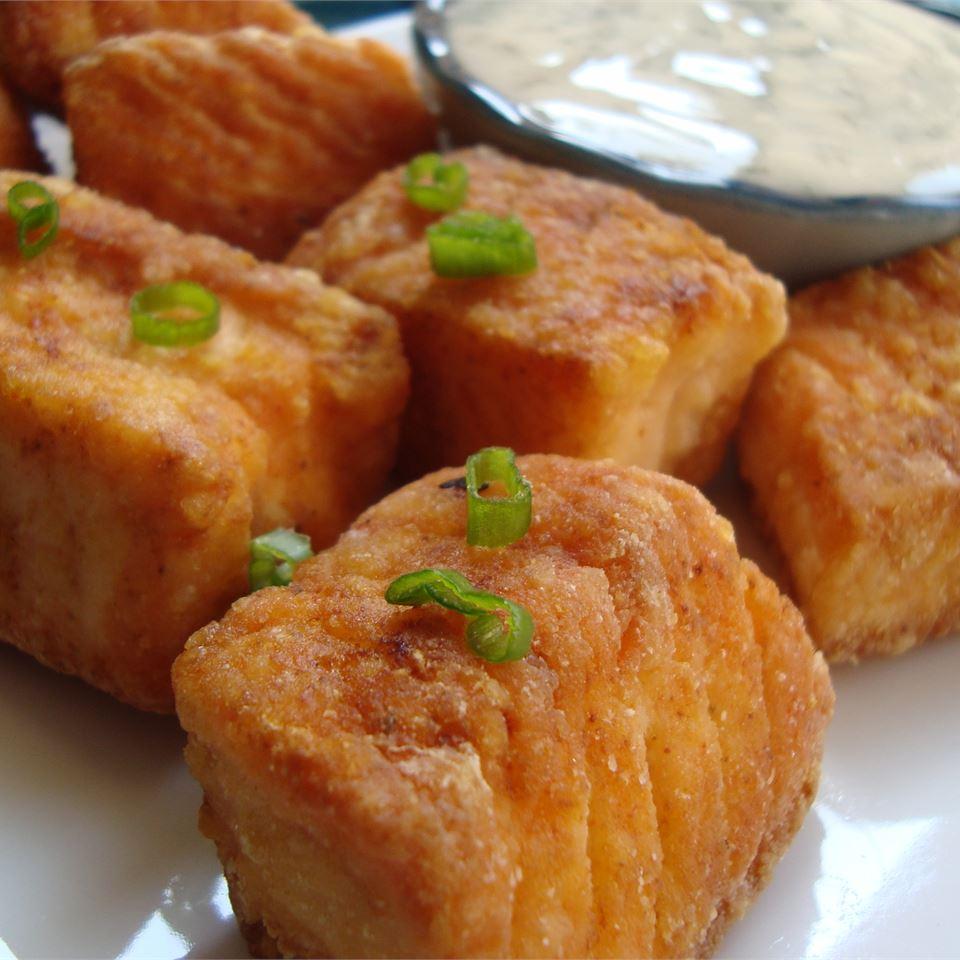 Bite-Sized Salmon Tikka Tarama