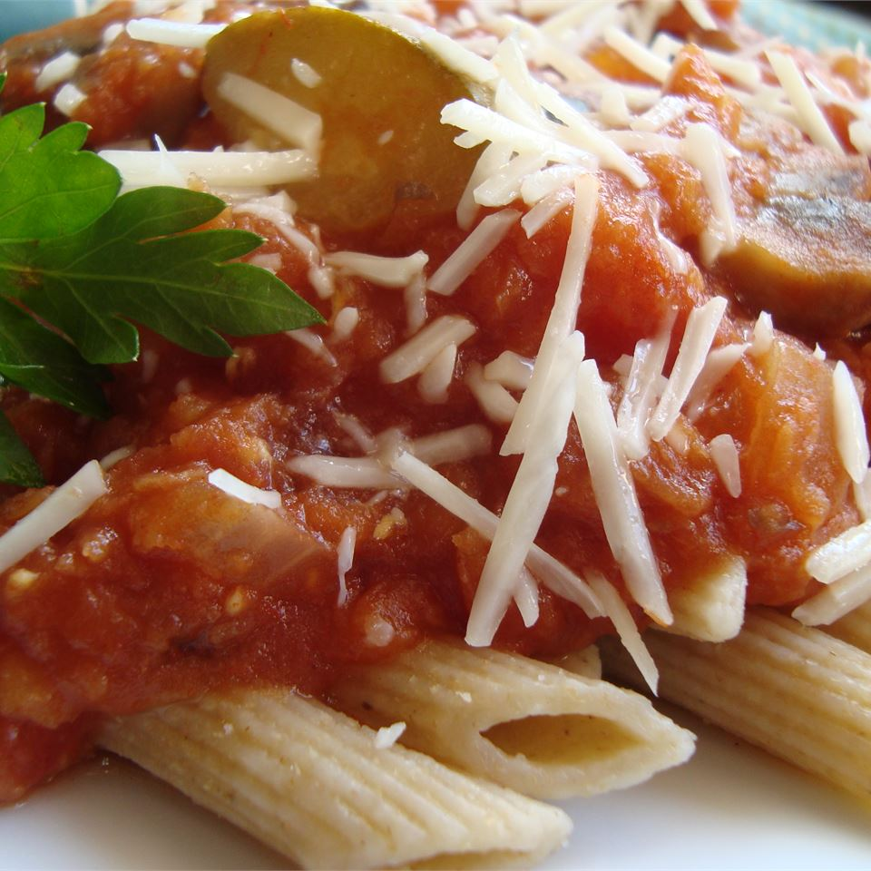 Sicilian Lentil Pasta Sauce Angela F.
