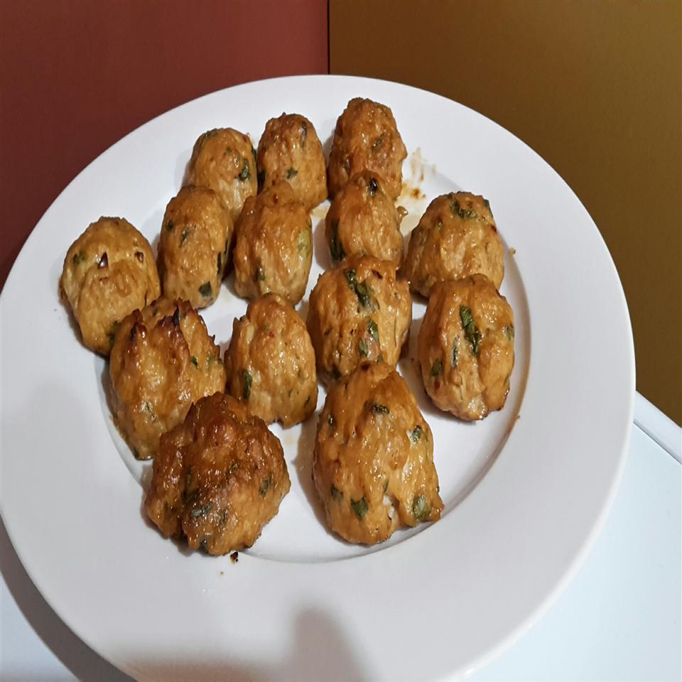 Tangy Chicken Meatballs Chris Fincham
