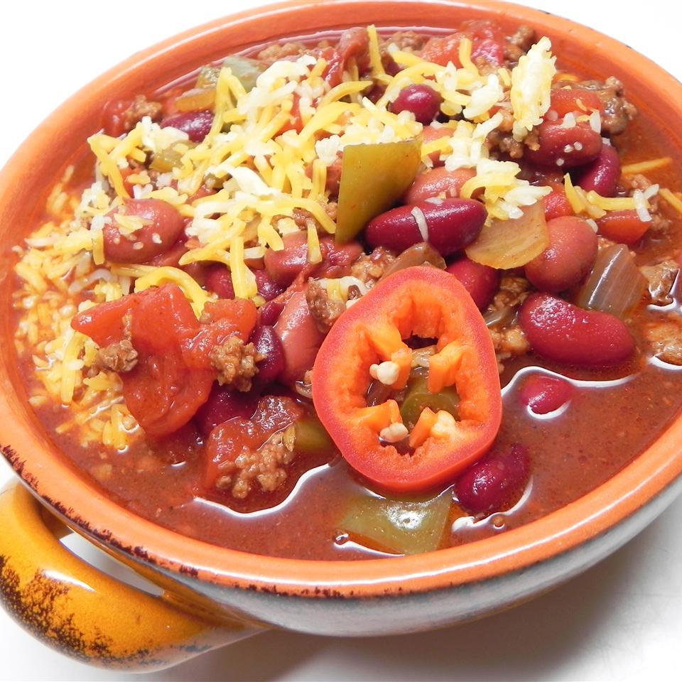 Three-Pepper Chili